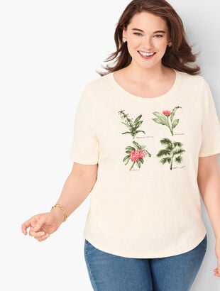 Botanical Flowers Tee
