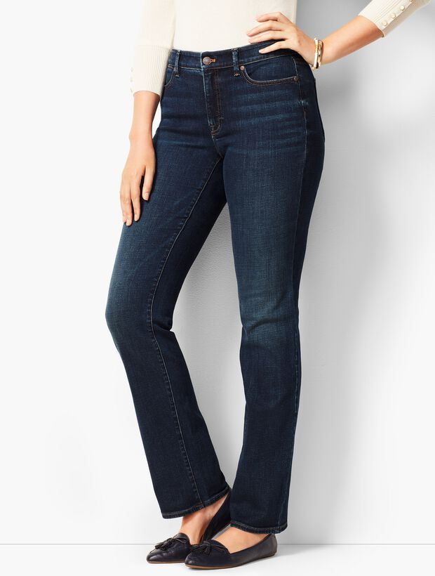 High-Waist Barely Boot Jeans - Pioneer Wash - Curvy Fit