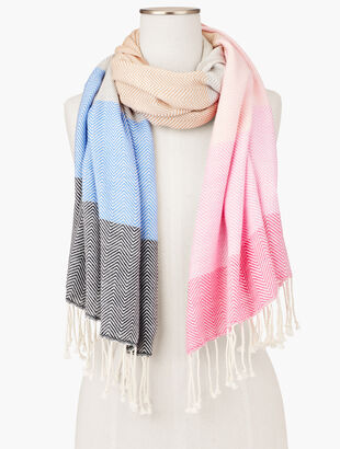Sunset Ombre Oblong Scarf