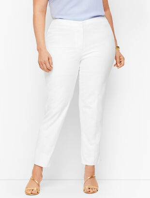 Plus Size Exclusive Biscay Slim Ankle Pants
