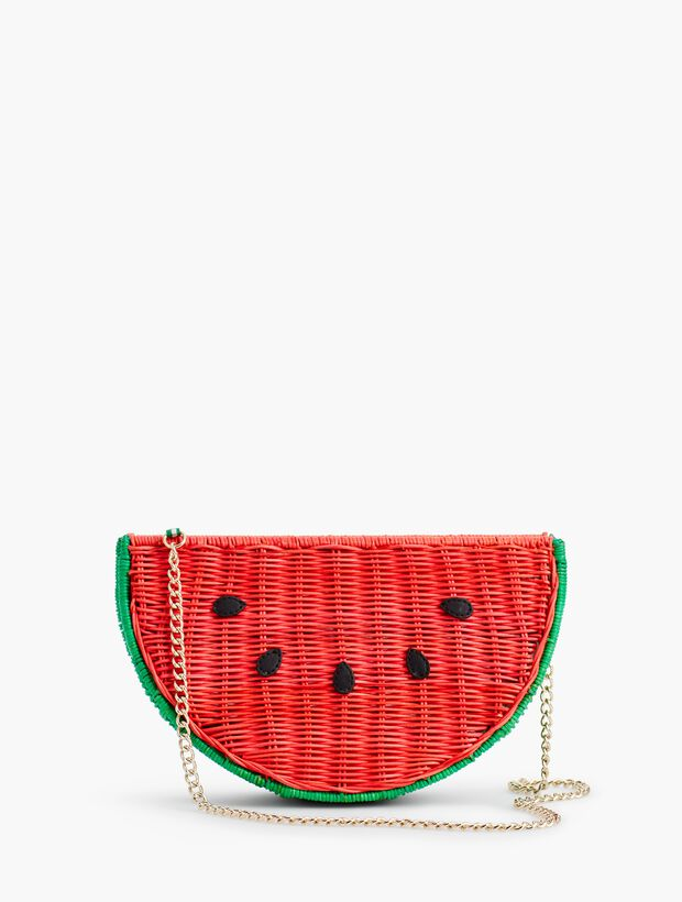 Wicker Watermelon Crossbody