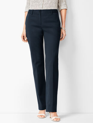 Cotton Bi-Stretch Barely Boot Pants