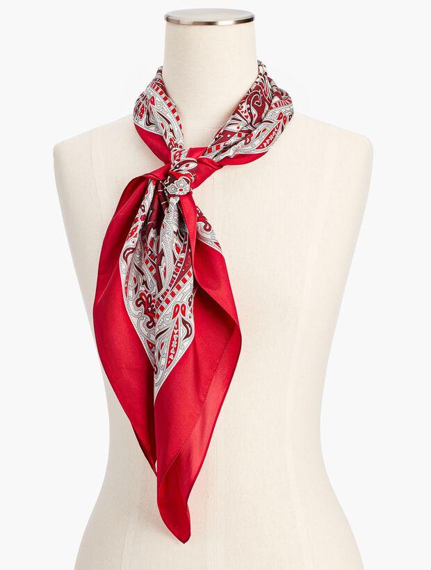 Paisley Silk Scarf