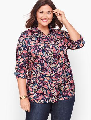 Classic Cotton Shirt - Dazzling Paisley