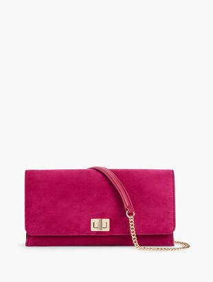 Refined Suede Bag