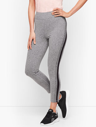 Colorblock Cropped Leggings