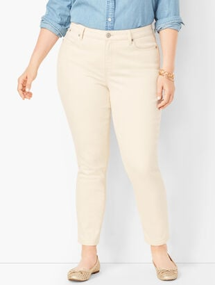 Slim Ankle Jeans - Natural