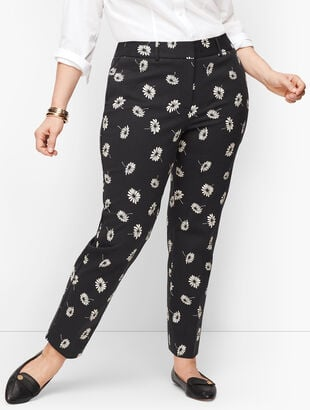 Plus Size Talbots Hampshire Ankle Pants - Curvy Fit - Floral