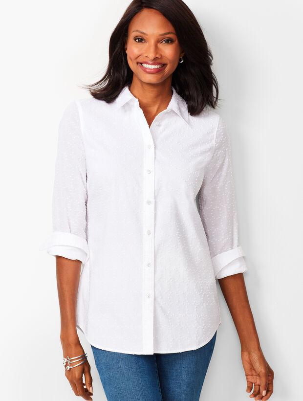 Classic Cotton Shirt - Clip Dot
