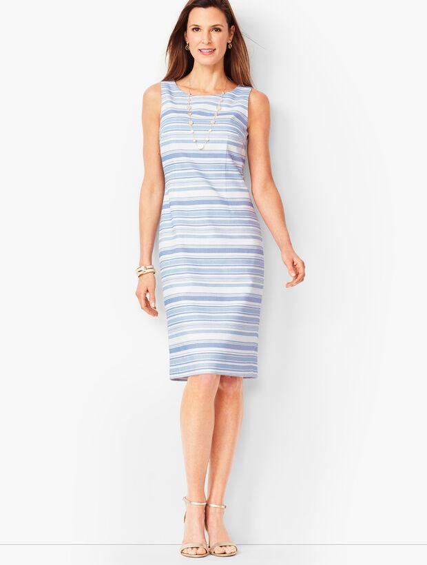 Stripe Biscay Sheath Dress