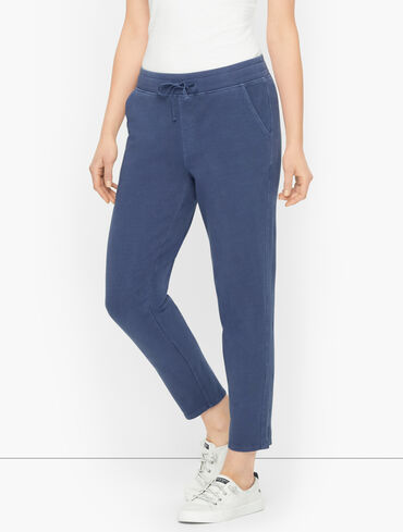 Sun Kissed Terry Relaxed Ankle Pants
