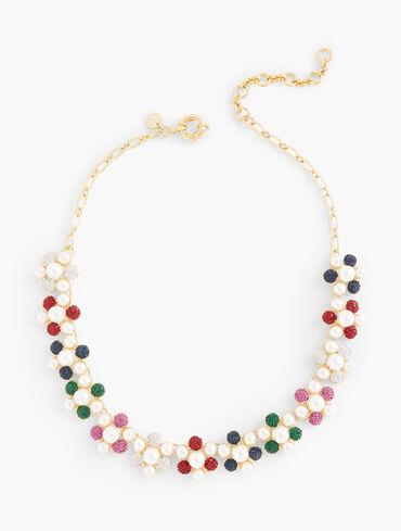 Caviar Sparkle Short Necklace