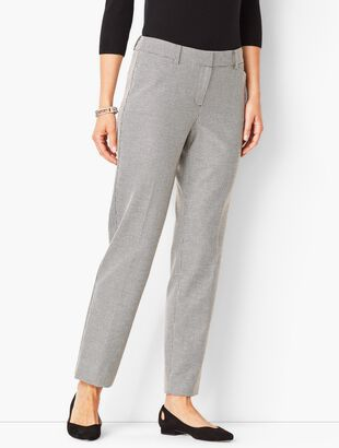 Talbots Hampshire Ankle Pants - Dobby