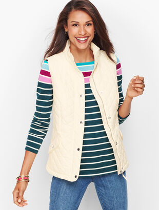 Fleece Lined Quilted Vest