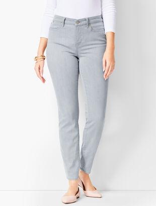 Slim Ankle Jeans - Curvy Fit - Zenith Wash