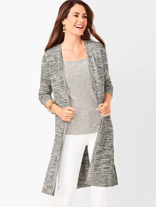 Lightweight Duster  - Marled