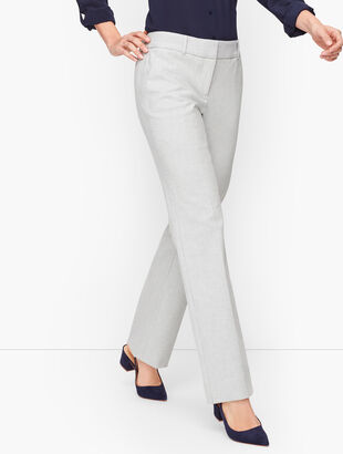 Talbots Newport Pants - Stripe - Curvy Fit