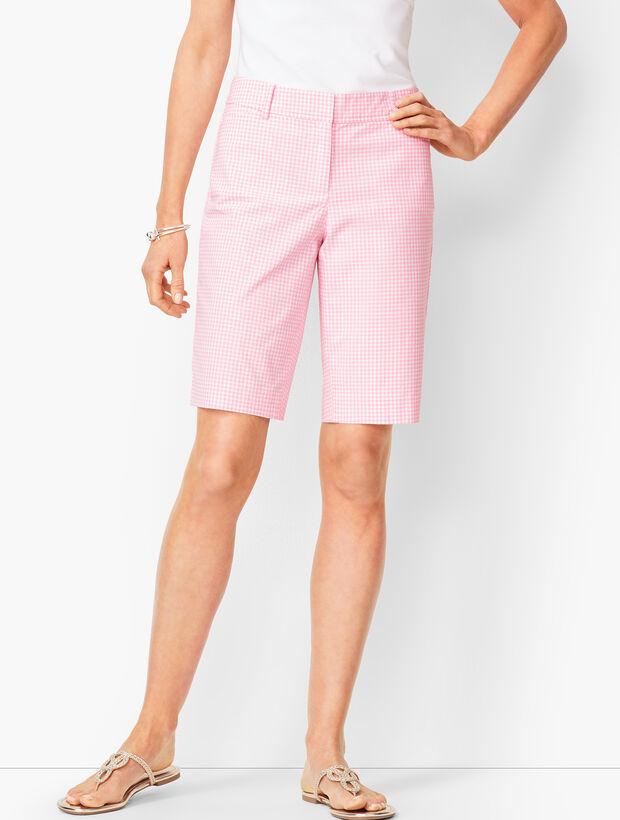 Perfect Shorts - Bermuda Length - Gingham