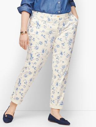 Relaxed Chinos - Toile