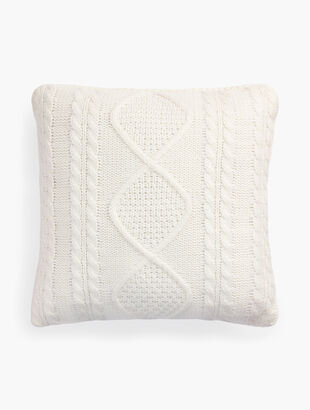 Aran Knit Pillow