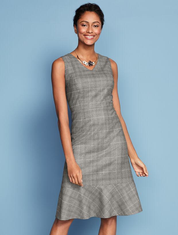 Glen Plaid Dress