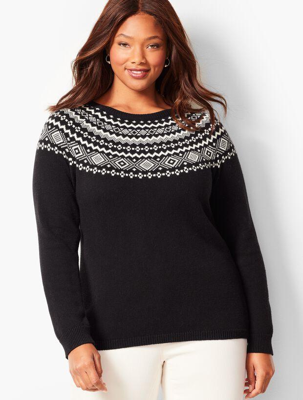 Fair Isle Crewneck Sweater