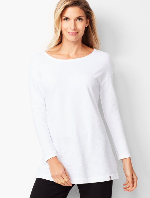 Crossback Terry Tunic