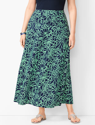 e0a25c94dd Plus Size Midi and Maxi Skirts | Talbots