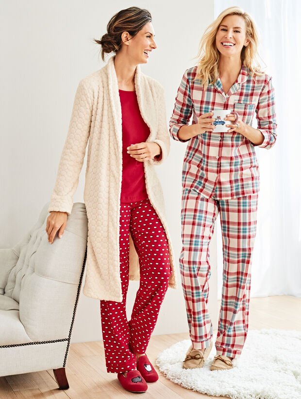 Classic Plaid Sleep Set