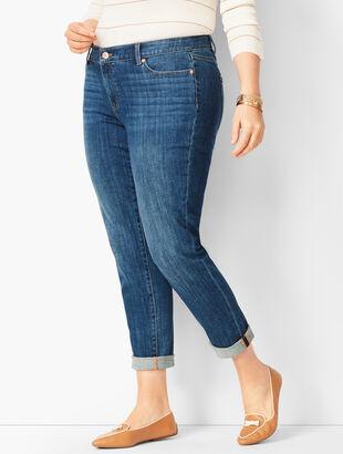 Girlfriend Jeans - Vector Wash
