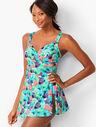 Sanibel Swim Dress - Sea Palms