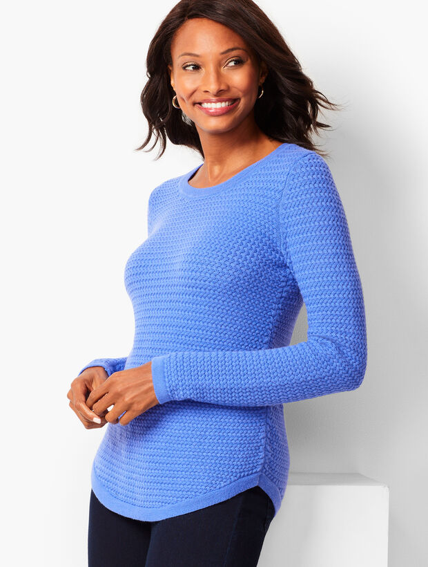 Basketweave Sweater
