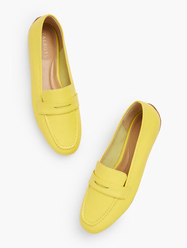 Jessie Leather Loafers