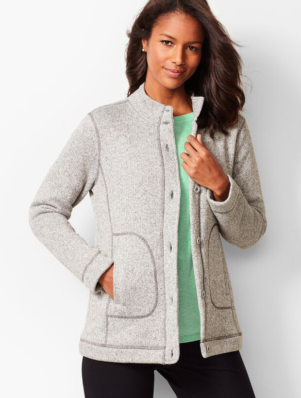 Terry Fleece Jacket
