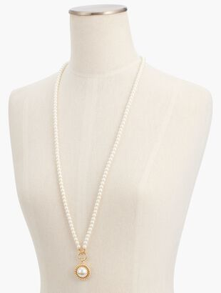 Two-Way Pearl Necklace
