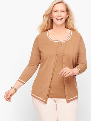 Charming Cardigan - Tipped