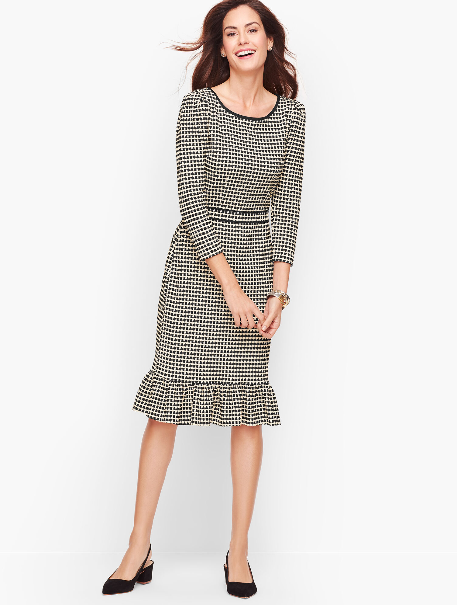 I-N-C Womens Ponte Shift Dress