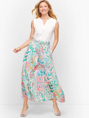 Ratti Coronado Paisley Maxi Skirt