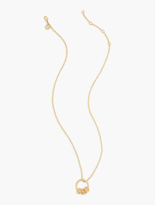 Five Gold Rings Necklace