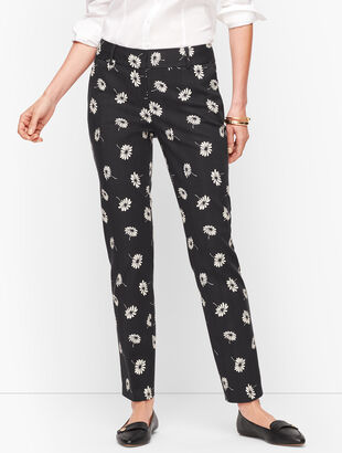 Talbots Hampshire Ankle Pants - Floral