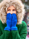 Ruffle-Edge Gloves