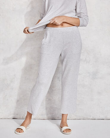 Modal French Terry Cropped Pant