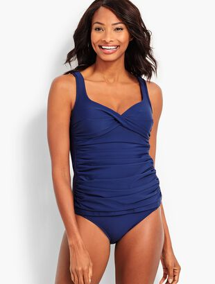 Miraclesuit(R) Marina Tankini Top - Solid