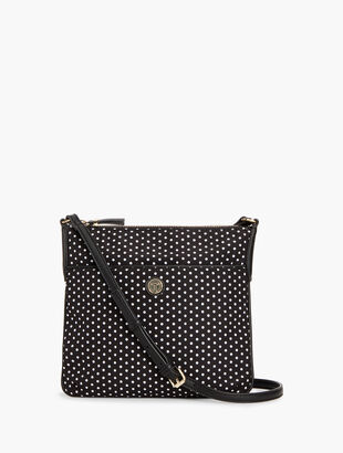 T by Talbots Crossbody Bag - Polka Dot