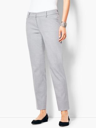 Talbots Hampshire Ankle Pant - Grey