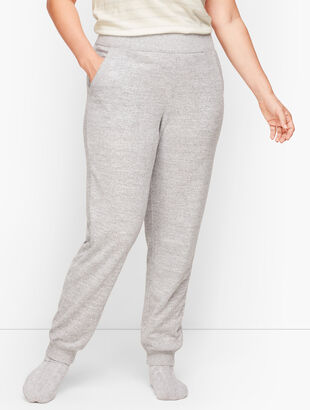 Brushed Mélange Jogger Pants