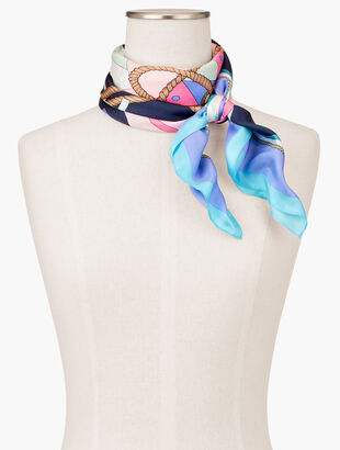 Starboard Port Silk Square Scarf