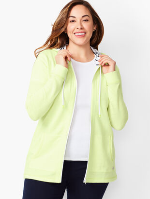 Terry Hooded Jacket