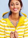 Classic Stripe Raincoat