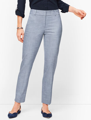 Talbots Hampshire Ankle Pants - Curvy Fit - Sharkskin
